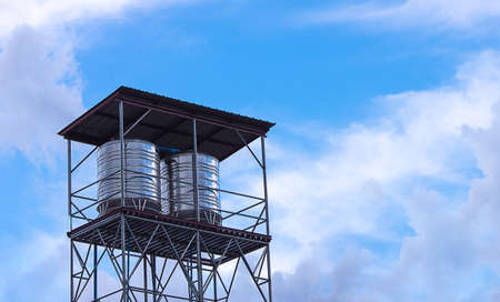 wickerwork: Water tower