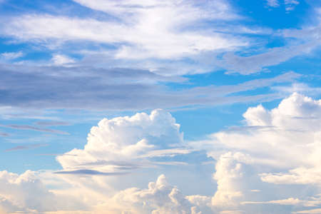 webbing: Sky after rain Stock Photo