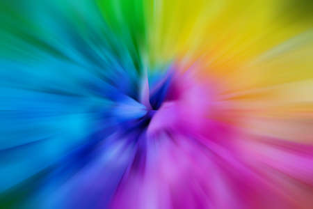 radial: Abstract multicolored background. Colorful radial blur. Stock Photo
