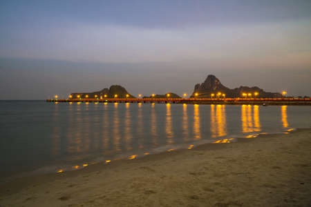 The beach of Prachuap Khiri Khan, Pak Nam Pran, Pran Buri, , Unseen Thailand