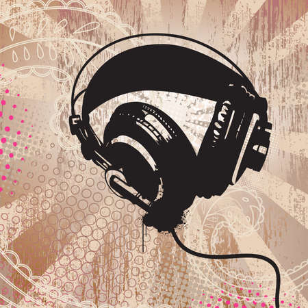 separate: Grunge Headphones All elements separate and easily rearranged or omitted.
