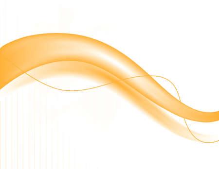 Abstaract orange wave pattern. Easily edited.