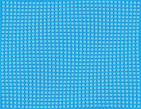 Optische illusie van golven of rimpels.