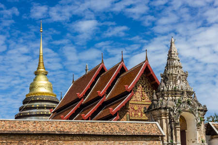 Wat Phra Thad Lampang Luang photo