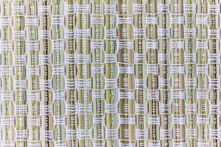 fine cane: handcraft weave texture natural cotton or background