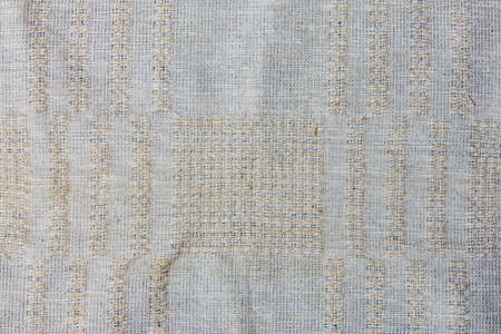 handcraft weave texture natural cotton or background Stock Photo - 21460487