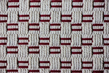 sufficiently: handcraft weave texture natural cotton or background
