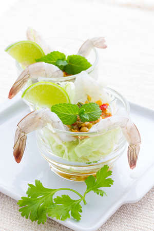 shrimp in fish sauce, Thai seafood, thaifood photo