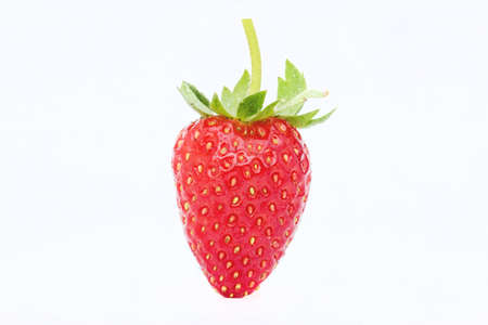Strawberries berry isolated on white
