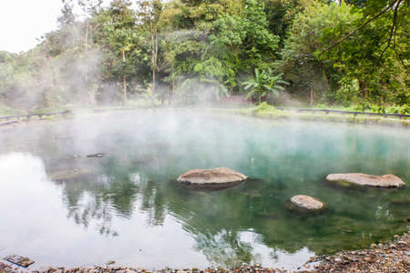 hot spring, LAM NAM KOK NATIONAL PARK , Thailand photo