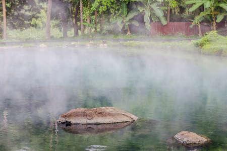 primavera calda, LAM NAM KOK PARCO NAZIONALE, Thailandia