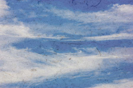 nimbi: clouds in the blue sky. blue sky with cloud closeup