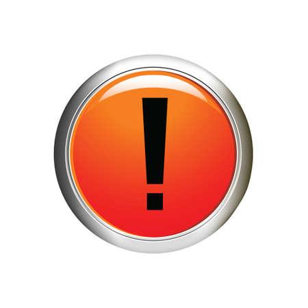 Pericolo Exclamation icona illustrazione