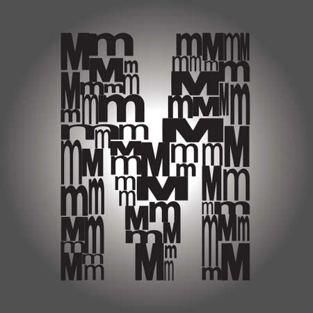 letter M illustration