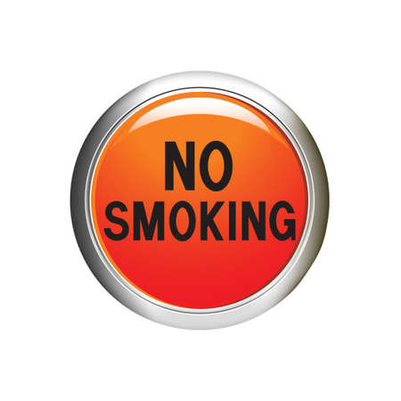 No smoking icon illustration Vector