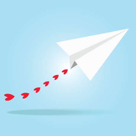 illustration of Paper plane Illustration