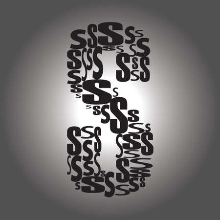 letter S illustration Vector
