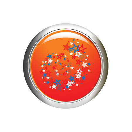 Internet button illustration Vector