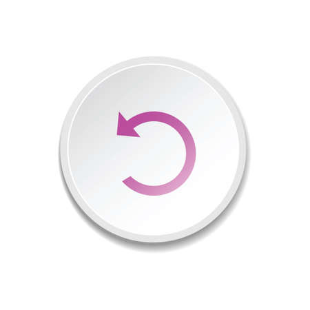 eject: Black arrow icon. Media player buttons. vector illustration Illustration