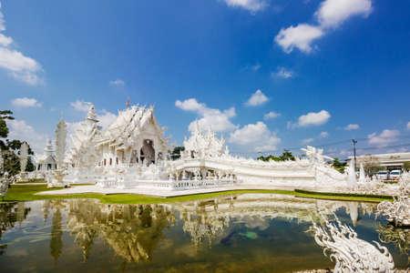 Thailand Temple - Wat Rong Khun of Chiangrai Thailand photo