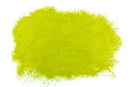 green powder: Background of green powder surface close up
