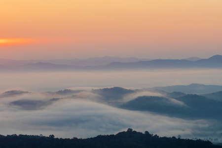 View point at Doi Sa-Ngo, Chiang Sean, Chiang Rai Province, Thailand.