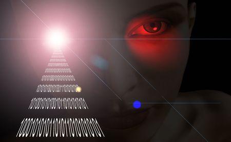 paranoia: La segretezza sul Internet - state guardandi? modellistica digitale 3d usata - nessun rilascio di modello richiesto.