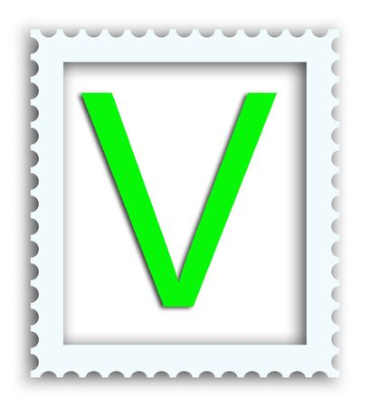 Block Letter Stamp Full Alphabet Available in this size from this artis