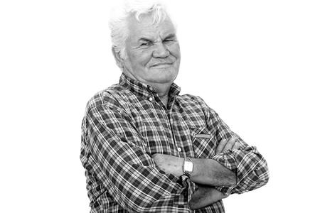 Senior Man Portrait photo