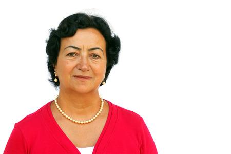 Retrato de la mujer mayor Foto de archivo - 30470521