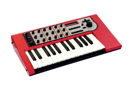 synthesizer: Music synthesizer Stock Photo