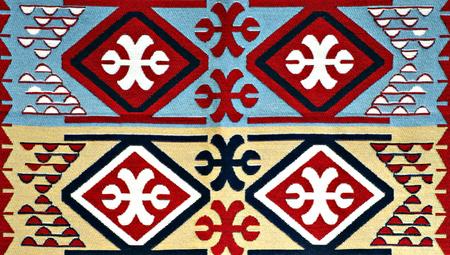 carpet texture: Oriental Turkish Carpet Pattern