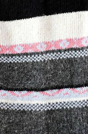 Knitting pattern Reklamní fotografie
