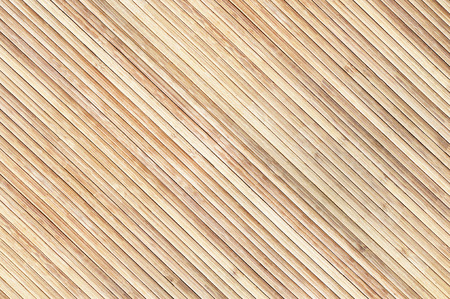 natural wooden background texture pattern of bamboo boards Stock Photo