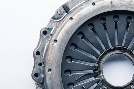 the clutch for a car on a white background