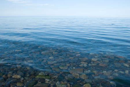 baikal: lake Baikal Stock Photo