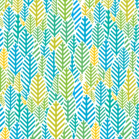 Seamless bright leaf pattern Stock Vector - 15583073