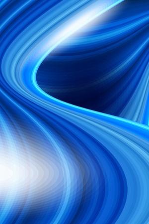 burmak: Renkli yumuşak büküm açık mavi arka plan