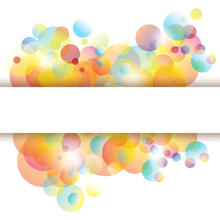 clean up: Abstract colorful background