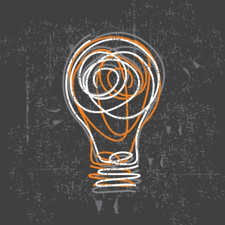 light bulb idea: bulb vector