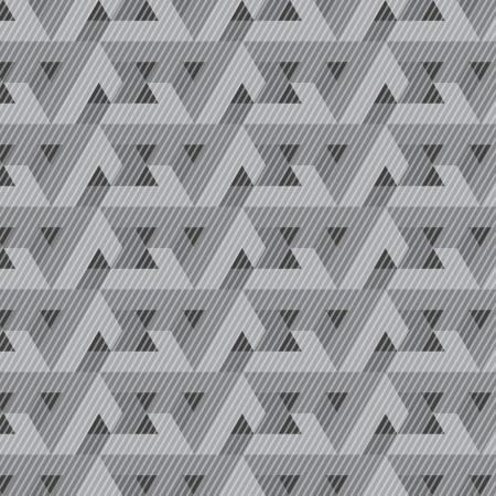 modular: Seamless geometric pattern  Illustration