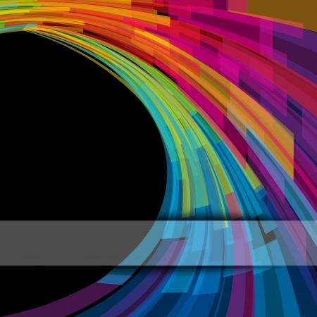 koel: Abstracte achtergrond van geometrische elementen Vector illustratie