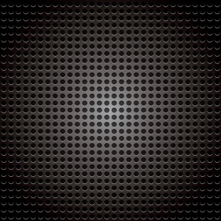 vector halftone gots, black dots on gray background