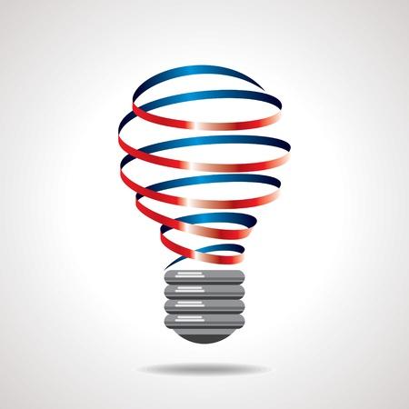 innovacion: bombilla vector idea