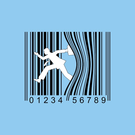 bar code illustration  Vector