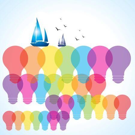 realistic eco bulb Stock Vector - 15947311
