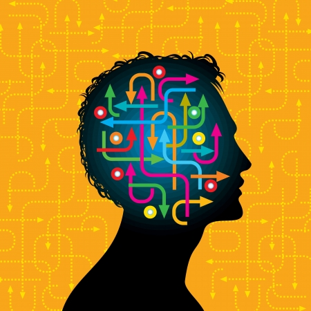 mental work: social network, communication in the global computer networks