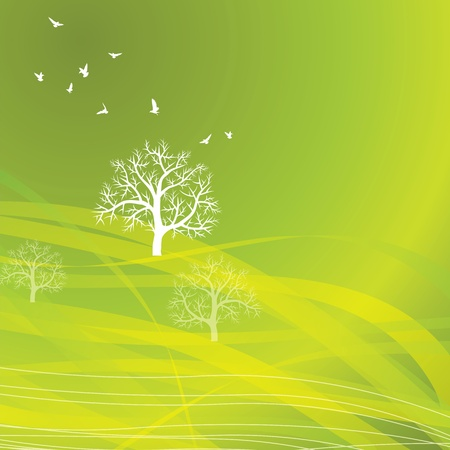 nature background Eco concept Stock Vector - 17725561