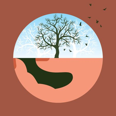 save nature vector Stock Vector - 17725671