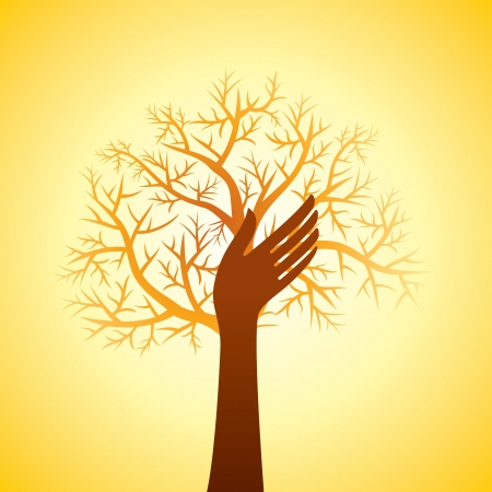 congregation: hands tree